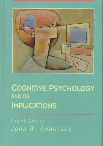 Download Cognitive psychology and its implications