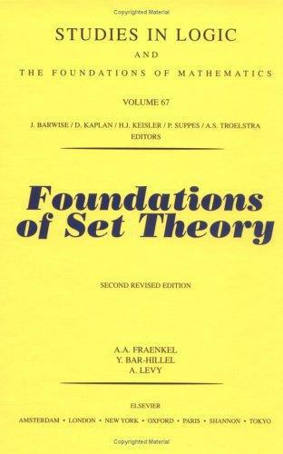 Foundations of set theory.