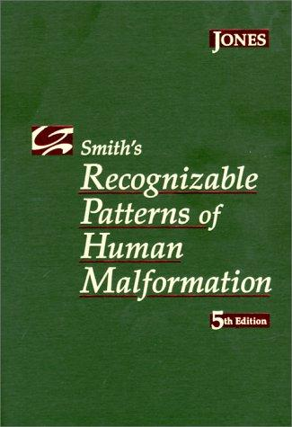 Download Smith's recognizable patterns of human malformation