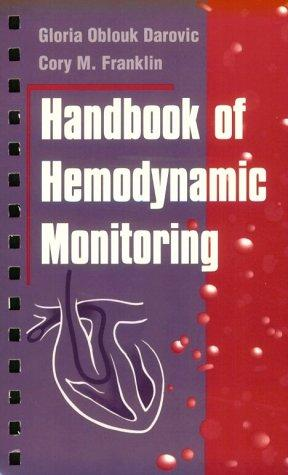 Handbook of hemodynamic monitoring