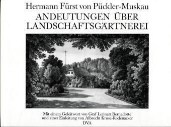 Download Andeutungen über Landschaftsgärtnerei