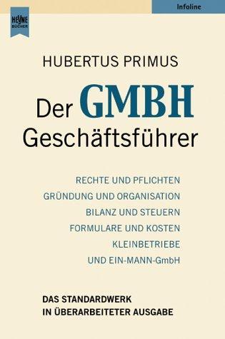 Der GmbH – Geschäftsführer.