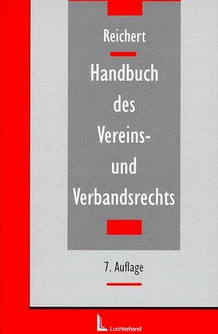 Handbuch des Vereins- und Verbandsrechts