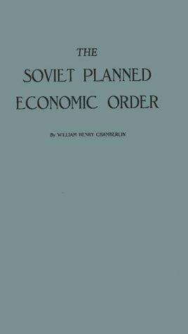Download The Soviet planned economic order.