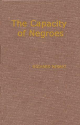 Download The capacity of Negroes for religious and moral improvement considered