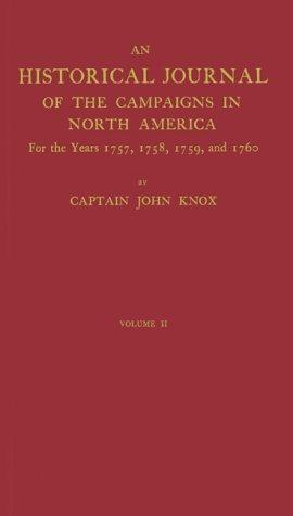 The Journal of Captain John Knox