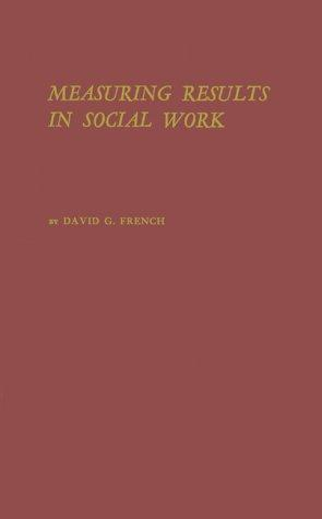 Download An approach to measuring results in social work