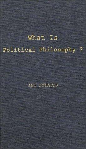 What is political philosophy?