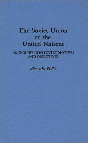 Download The Soviet Union at the United Nations