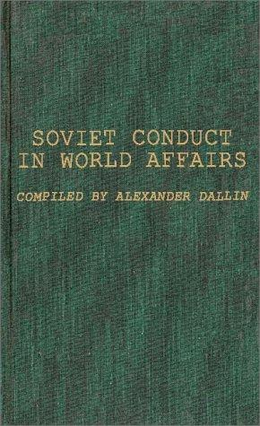 Soviet conduct in world affairs