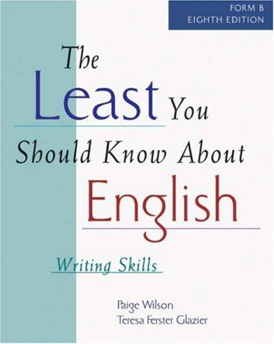 Download The least you should know about English