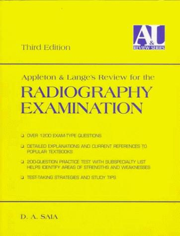 Download Appleton & Lange's review for the radiography examination