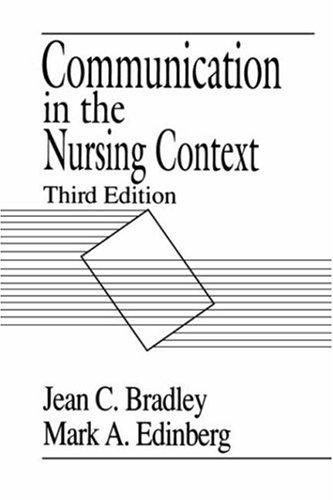 Download Communication in the nursing context