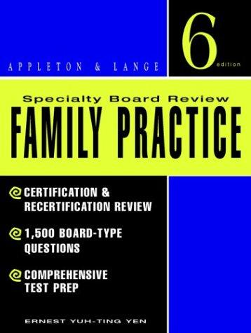 Specialty board review, family practice