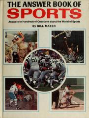 Cover of: Answer Book Of Sport | Bill Mazer