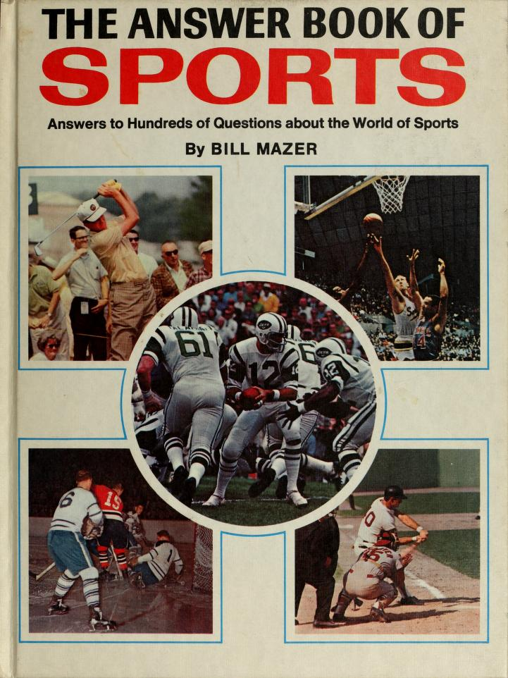 Answer Book Of Sport by Bill Mazer