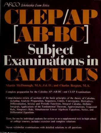 Cover of: Calculus | Martin McDonough