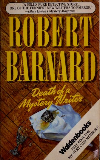 Cover of: Death of a Mystery Writer  