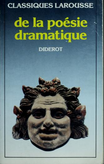 De La Poesie Dramatique* by Denis Diderot