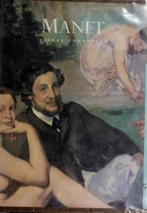 Cover of: Edouard Manet | Pierre Courthion