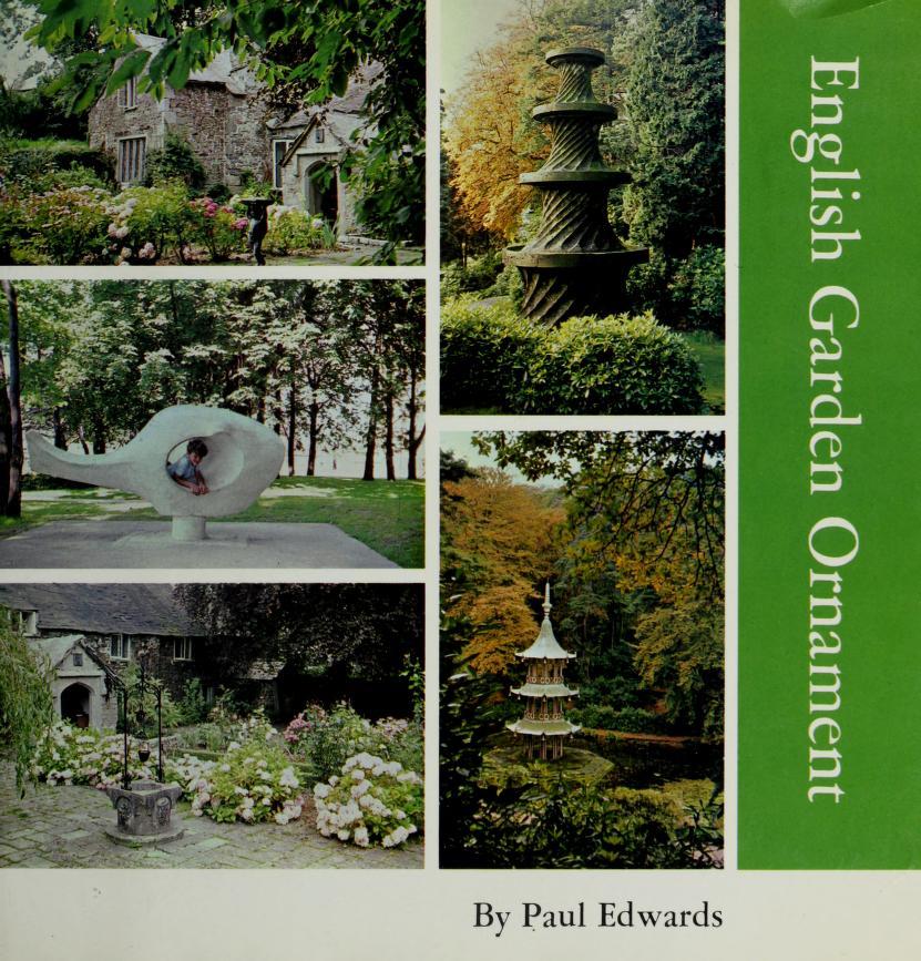 English garden ornament by Edwards, Paul