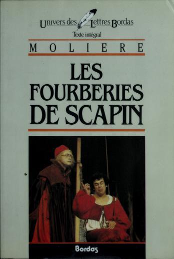 Cover of: Les Fourberies De Scapin | Molière