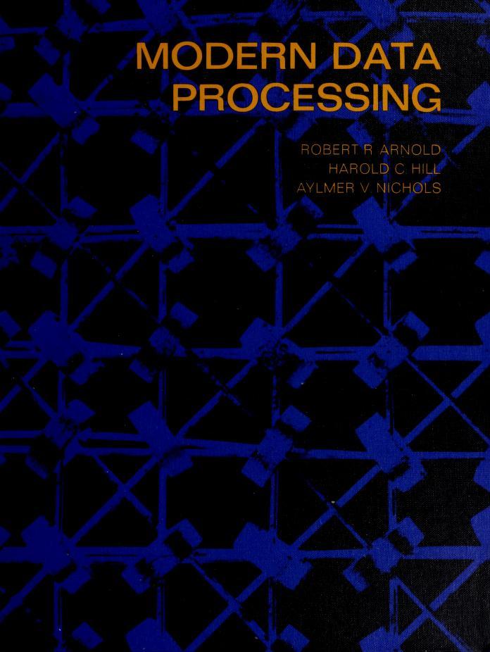 Modern data processing by Robert R. Arnold