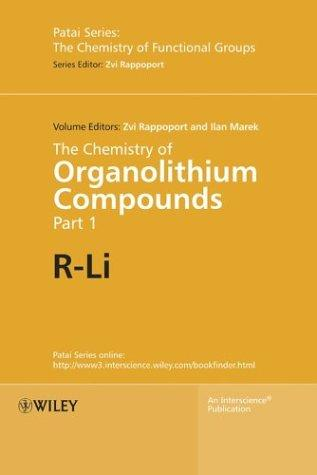 The chemistry of organolithium compounds by