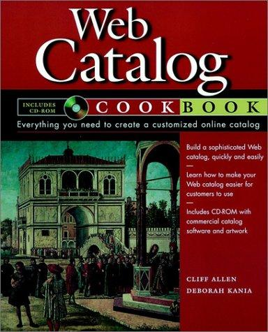 Web catalog cookbook by Cliff Allen
