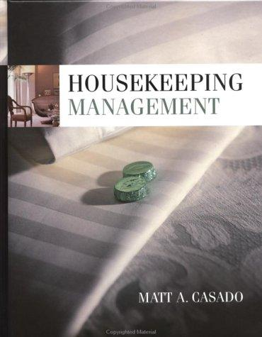 Housekeeping management by Matt A. Casado