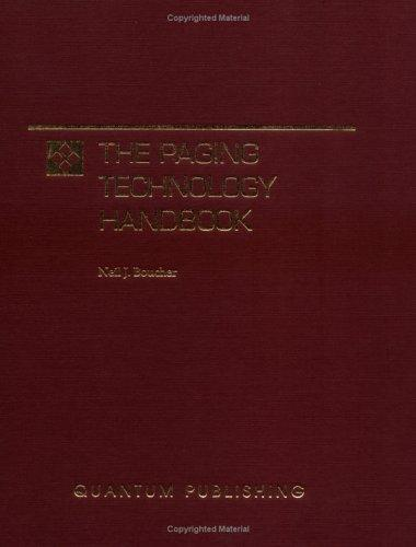 The Paging Technology Handbook