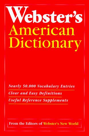 Dic Webster's American Dictionary by Webster's