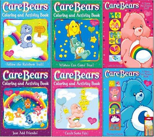 Care Bears 6 Piece Activity Book Pack with Crayons by Modern Publishing