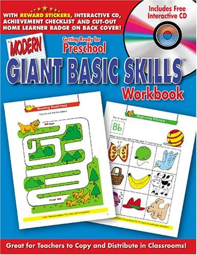 Getting Ready for School Giant Basic Skills Workbook with CD Rom (Modern Giant Basic Skills) by Modern Publishing