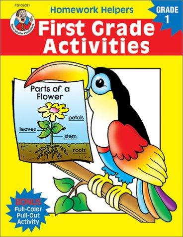 Homework Helper First Grade Activities (Homework Helpers) by School Specialty Publishing