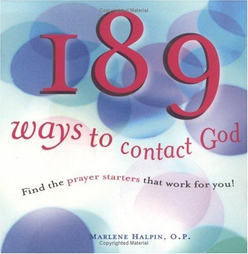 189 ways to contact God by Marlene Halpin