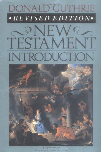 New Testament Introduction by Guthrie, Donald