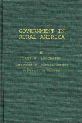 Government in rural America