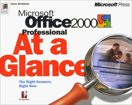 Microsoft Office 2000 professional at a glance by Perspection, Inc