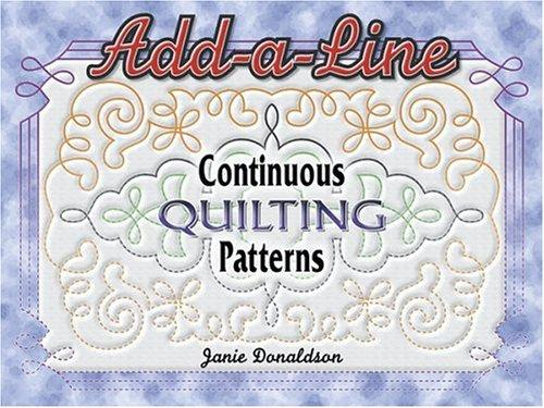 Image 0 of Add A Line Continuous Quilting Patterns