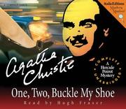 One, Two, Buckle My Shoe book cover