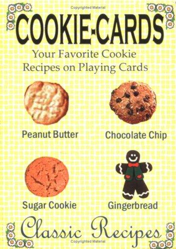 "Cookie-Cards ""Classic Recipes"" deck of cards by Thomas Ross"