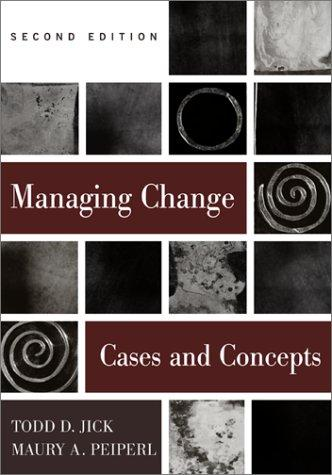 Managing change by Todd Jick