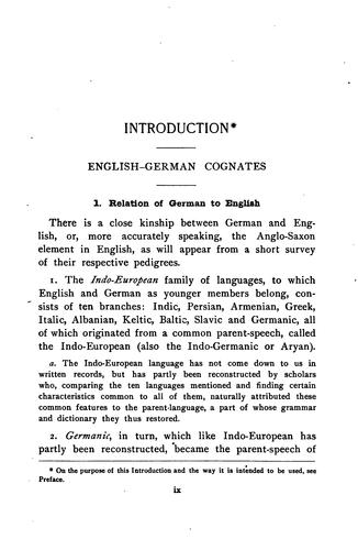 A German reader for beginners by Herman Carl Otto Huss