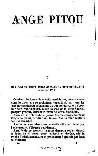 Ange Pitou.