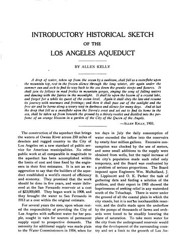 Complete report on construction of the Los Angeles aqueduct by Los Angeles. Board of public service commissioners
