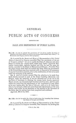 Decisions of the Interior department in public land cases by William Wharton Lester