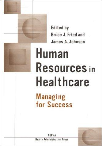 Human resources in healthcare by