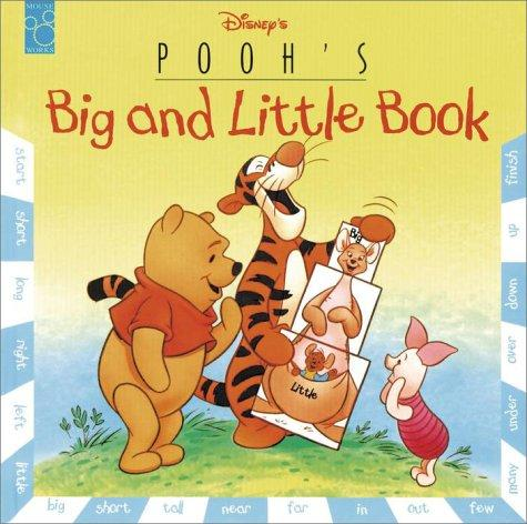Pooh's Big and Little Book (Pull-a-Page Book) by RH Disney