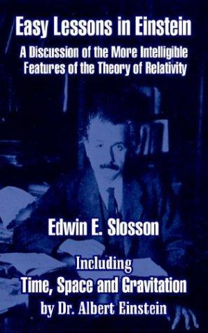 Easy Lessons in Einstein by Edwin E. Slosson